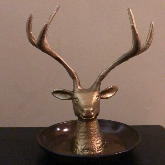 Deer Elk Jewelry Holder